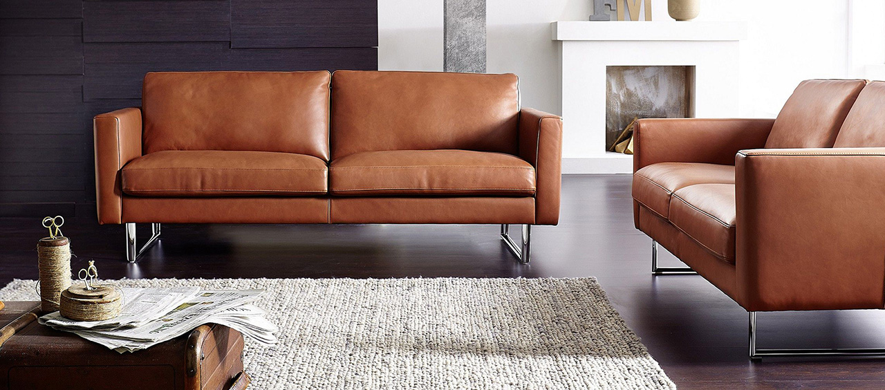 фото интерьера и мягкой мебели из искусственной кожи