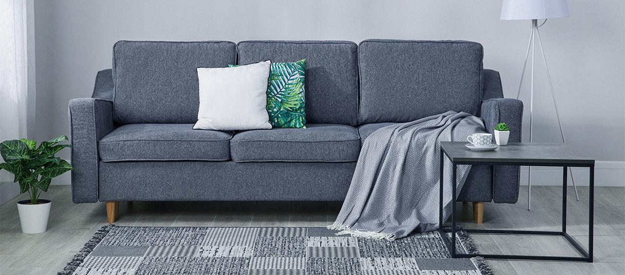 фото мягкой мебели из ткани рогожка
