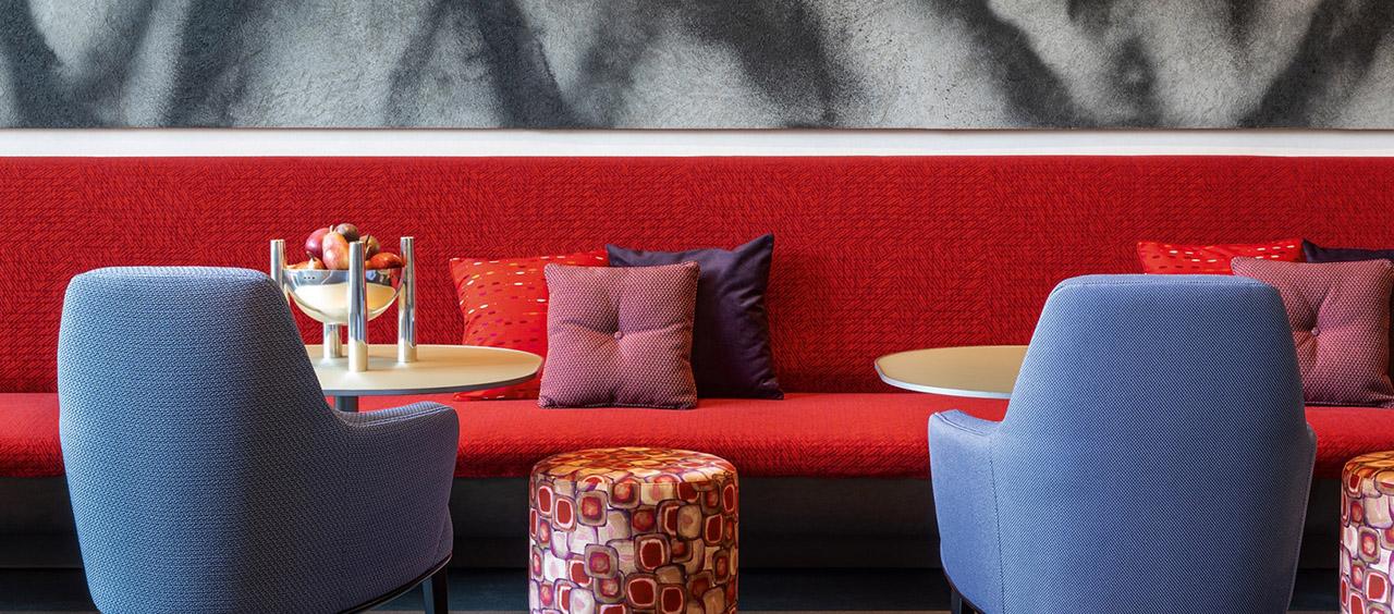 фото интерьера ткани искусственная шерсти в кафе, ресторан, отель HoReCa