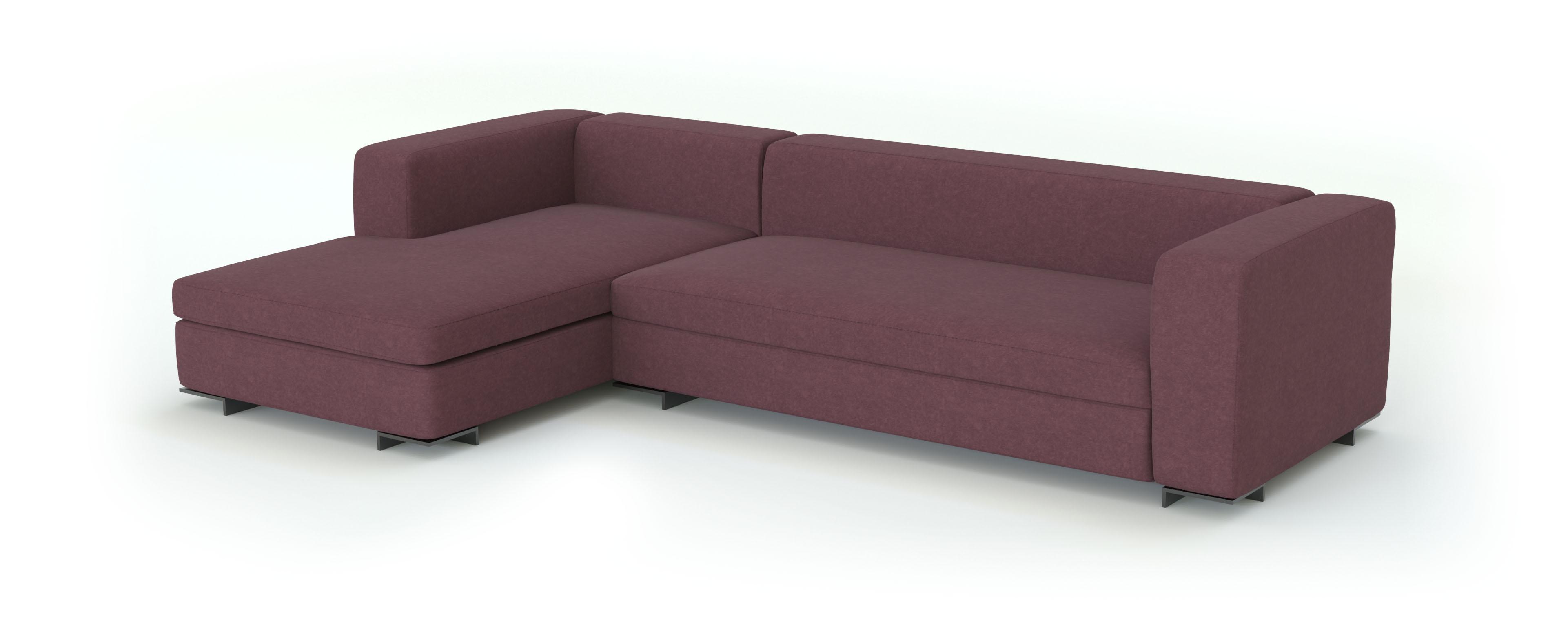 флок ткань для мебели 3d модель дивана