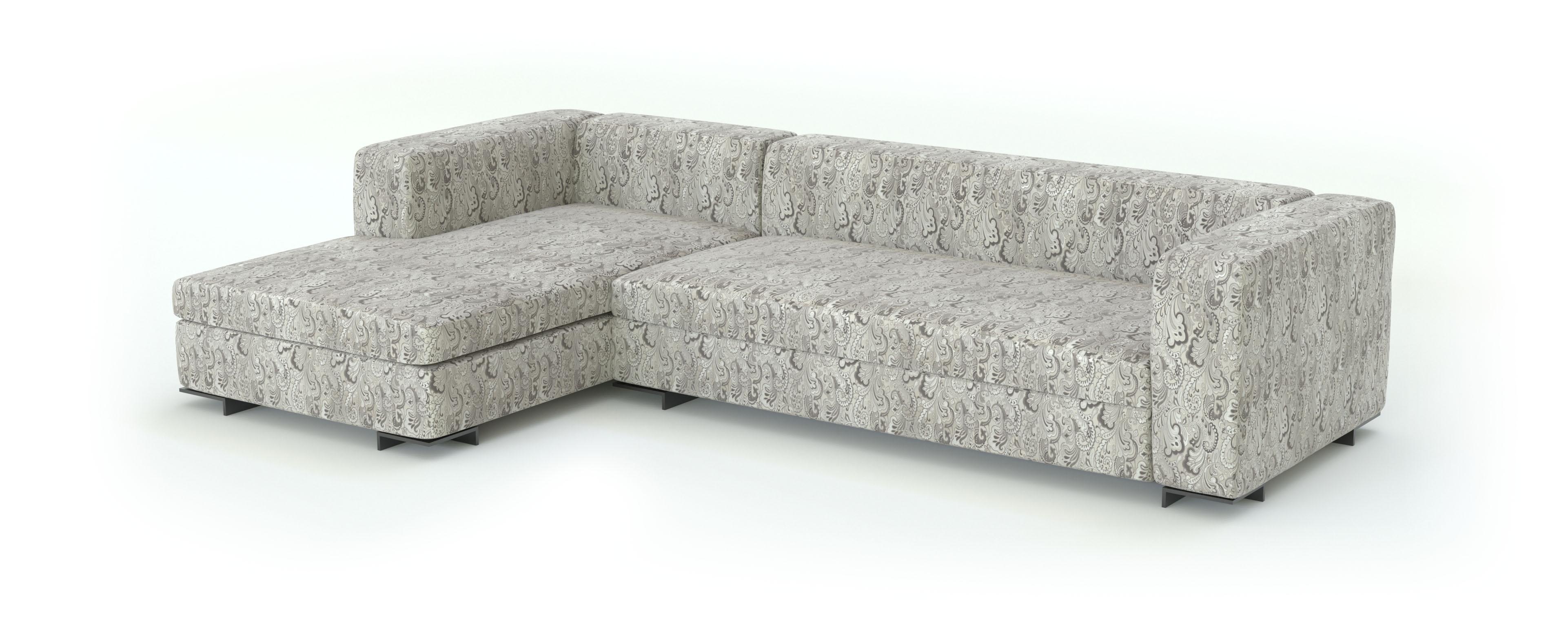 жаккард ткань для мебели 3d модель дивана