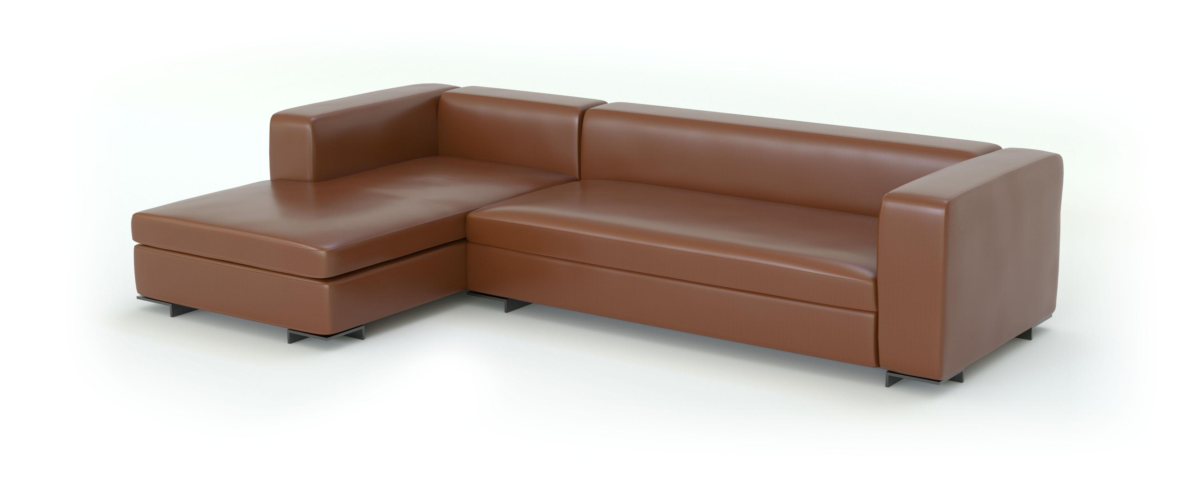 экокожа ткань для мебели 3d модель дивана