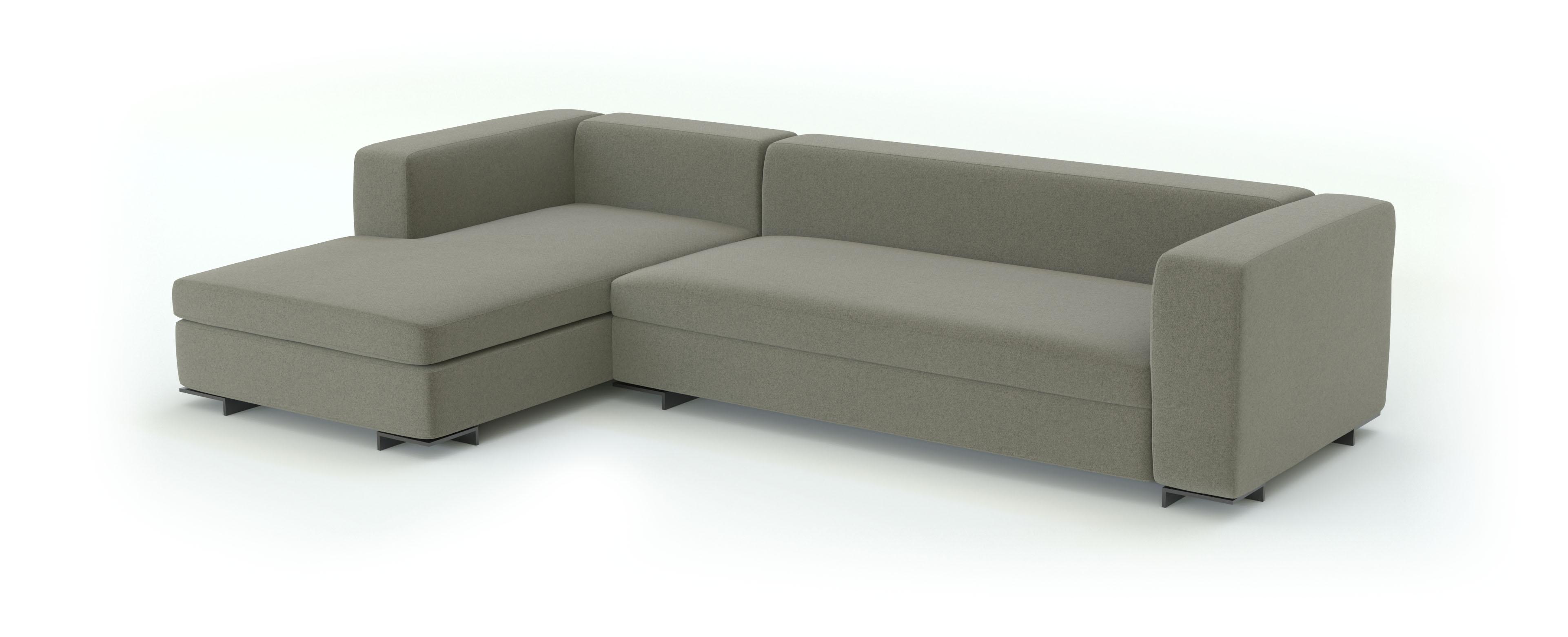 шерсть ткань для мебели 3d модель дивана